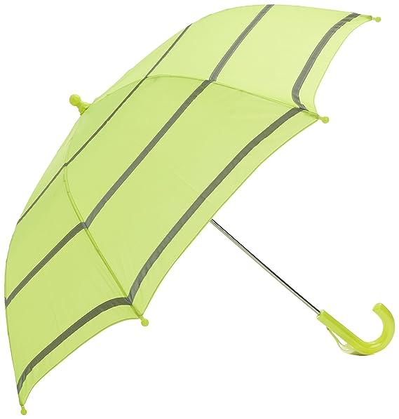 Paraguas bastón de alta visibilidad para niños, amarillo, Rob McAlister