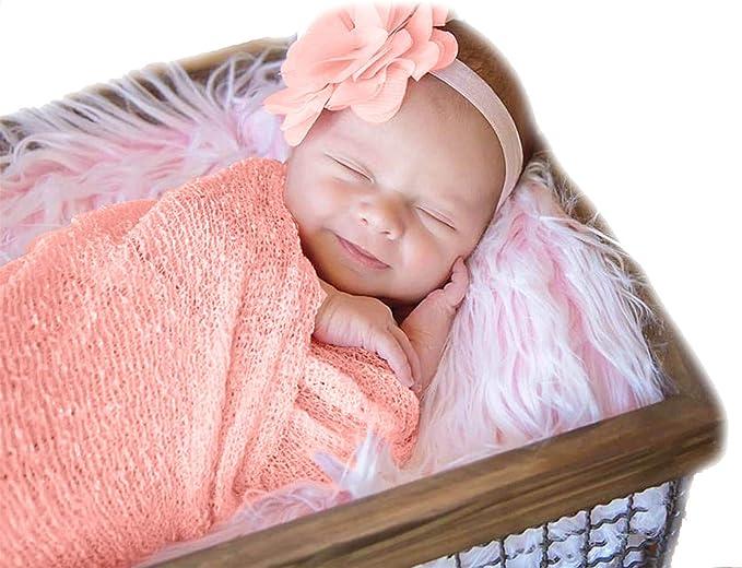 Sienna Stretch Knit Wrap Newborn Photography Prop