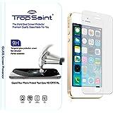 Trop Saint® 9H Film Protecteur d'écran 0,4mm en Verre Trempé pour iPhone SE / 5 / 5C / 5S Transparente et Invisible Ultra Clair Haute Qualité HD Ultra Résistant INRAYABLE Tempered Glass