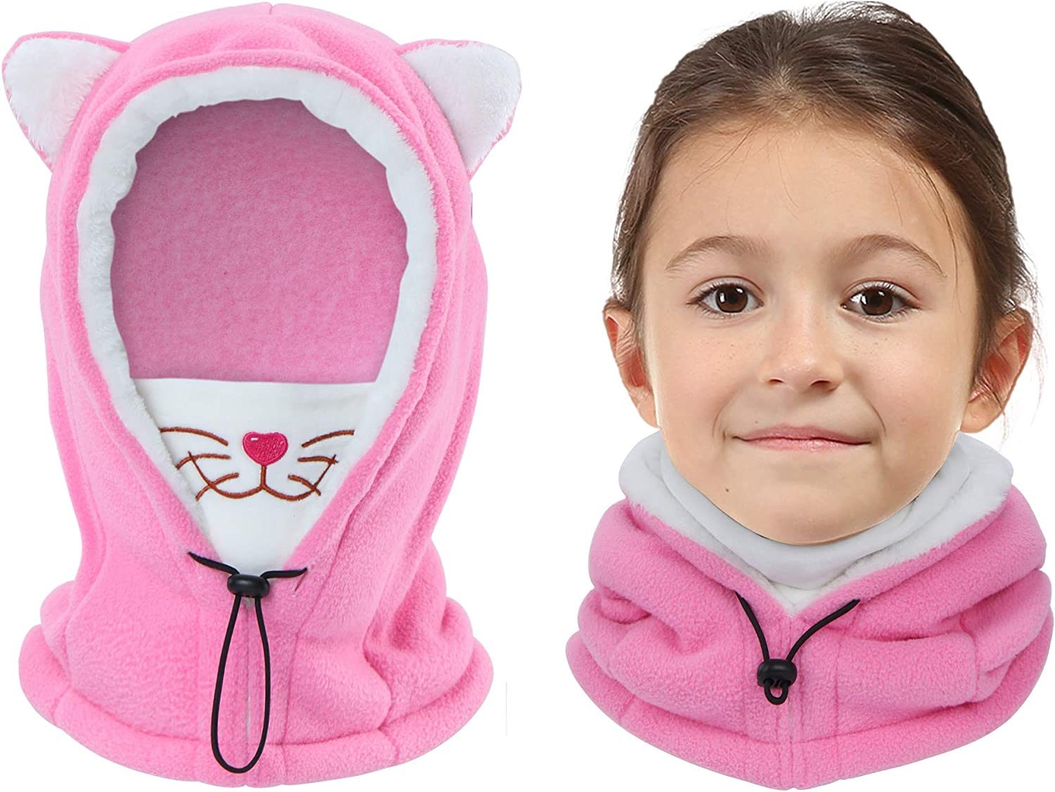 Vorshape Kids Balaclava Ski Mask, Cold Weather Fleece Face Mask...