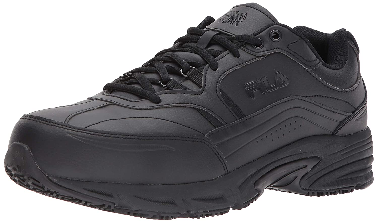 fc599a327f27 Amazon.com  Fila Men s Memory Workshift Slip Resistant Steel Toe Work Shoes  Hiking  Shoes