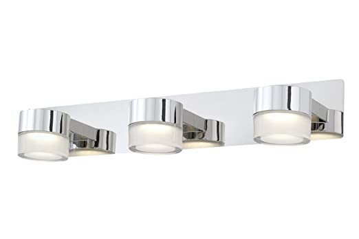 Briloner Leuchten Badezimmerlampe, Spiegelleuchte, LED Badlampe,  Badleuchte, Badezimmerleuchte, Badleuchten Decke,