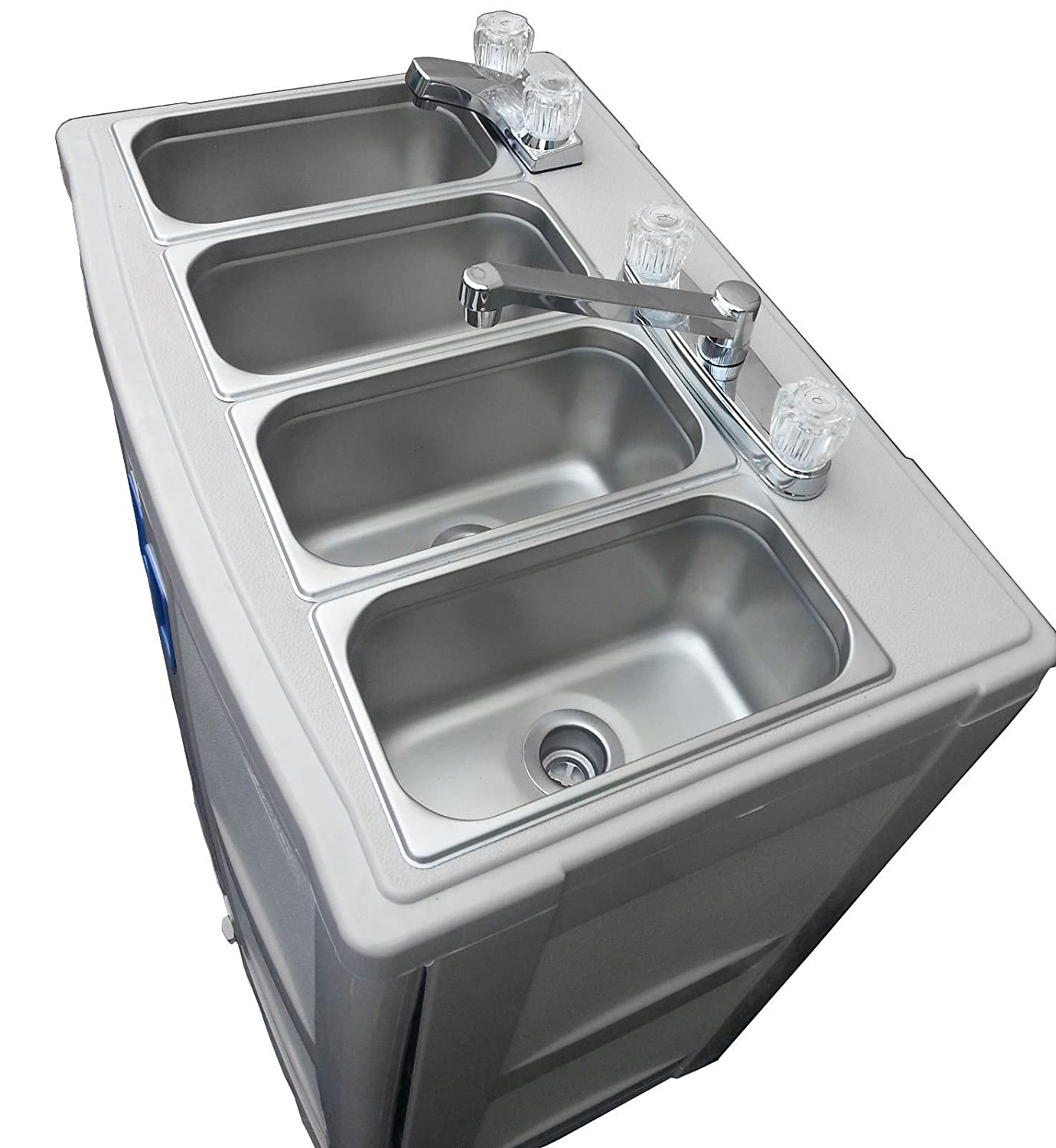 portable sink with hot water mobile concession 4 partment