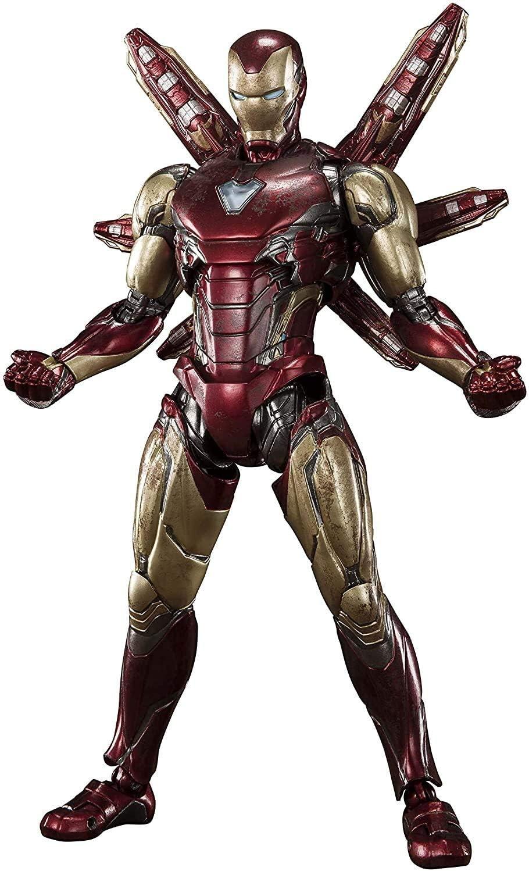 TAMASHII NATIONS S.H. Figuarts Iron Man Mk. 85 -Final Battle Ver.- Avengers: Endgame, Multi, Approx. 160 mm