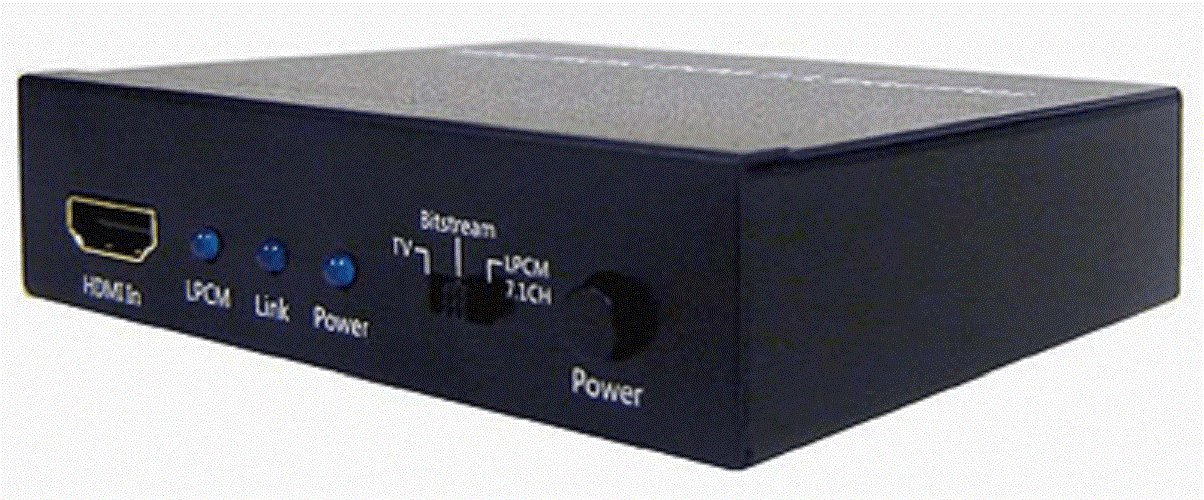 HDMI LPCM 5.1 7.1 To Analog Surround Decoder AllAboutAdapters AU-HCP2