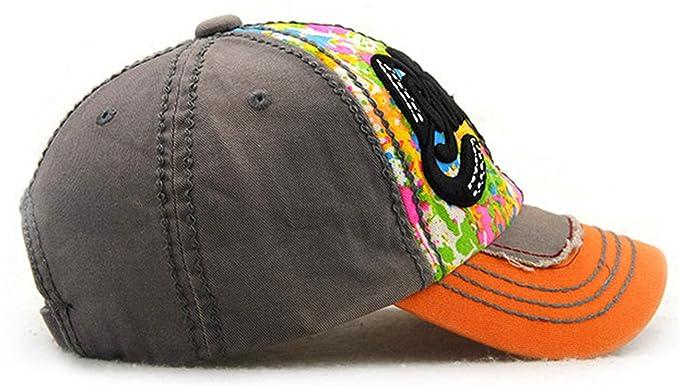 Amazon.com: jieen moda snapback carta bordado deportes Gorra ...