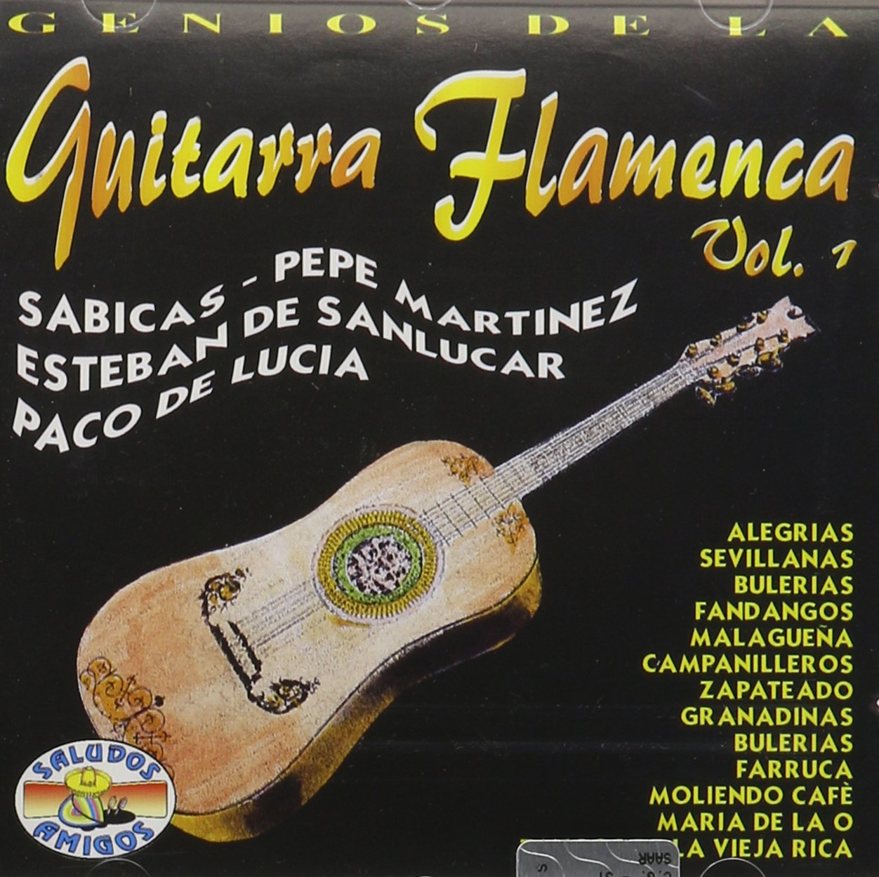 Vol.1-Guitarra Flamenca: Guitarra Flamenca: Amazon.es: Música