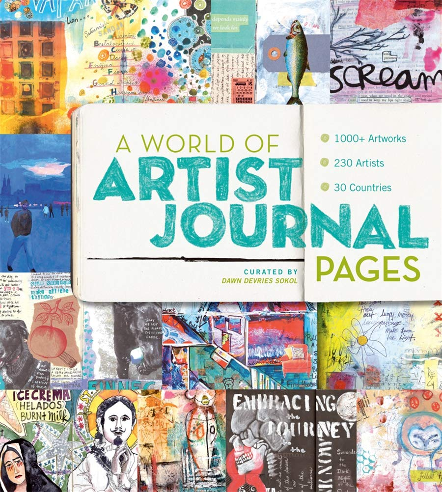 A World of Artist Journal Pages Book Cover