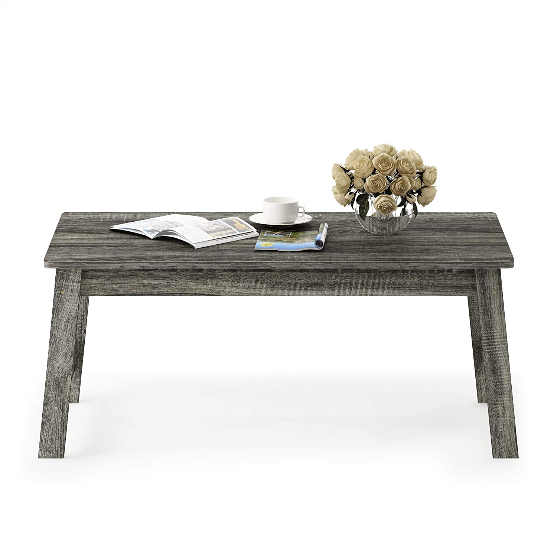 one size Ch/êne fran/çais Gris//Gris Taille Unique Furinno Simplistic Tables de Bout