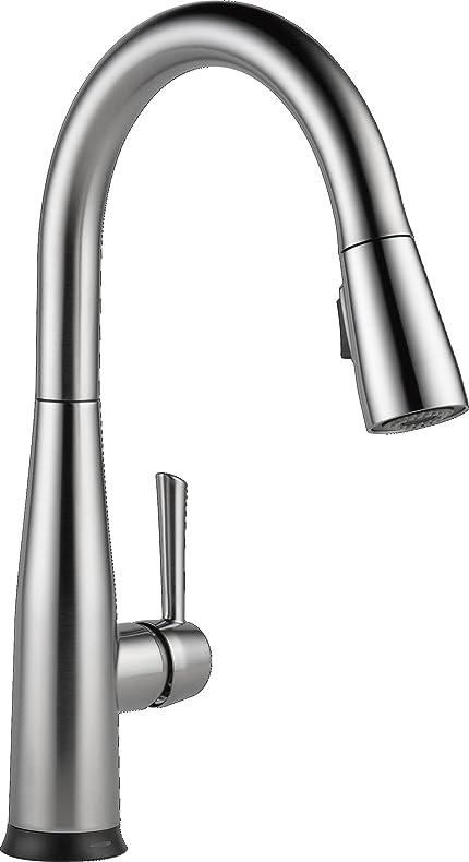 Merveilleux Delta Faucet 9113T AR DST Essa Single Handle Pull Down Kitchen Faucet With