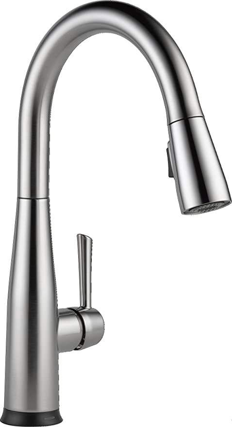 Delta Faucet Essa Single Handle Touch Kitchen Sink Faucet With Pull Down Sprayer Touch2o Technology And Magnetic Docking Spray Head Arctic Stainless