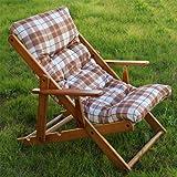 Sedie A Sdraio Ikea.Sedia Sdraio Harmony Relax In Legno Pieghevole Cuscino Imbottito