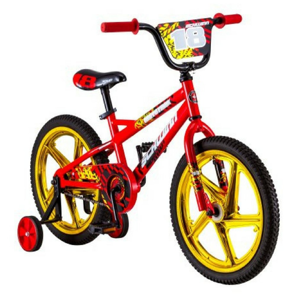 Schwinn 18'' Mototrax Boy's Sidewalk Bike, Red