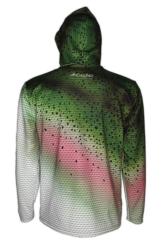 Mojo Sportswear Rainbow Trout Finny Fleece Hoodie