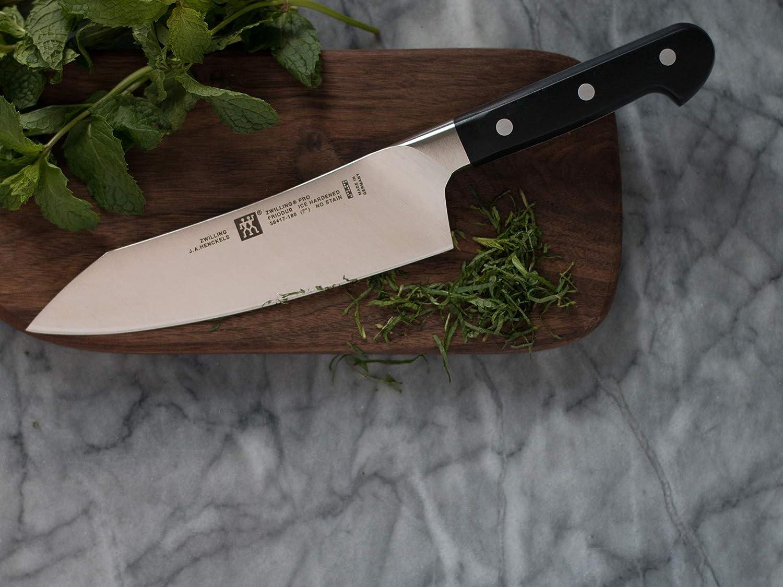 ZWILLING Pro 7-inch Rocking Santoku Knife