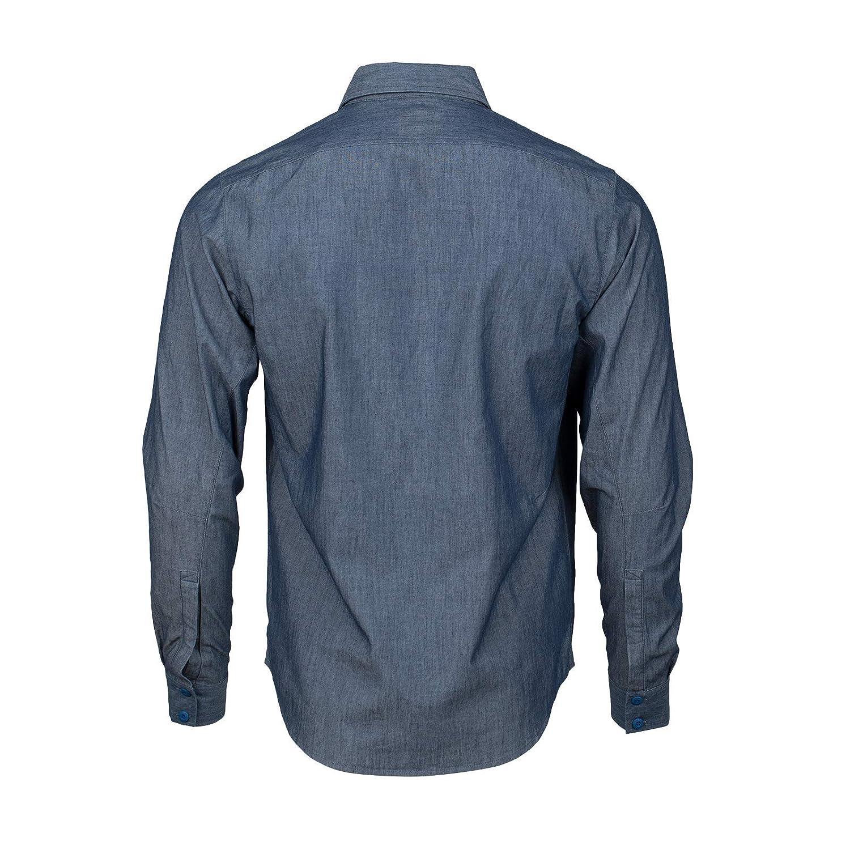 XX-Large Indigo Magpul Mens Button-up Weekender Chambray Shirt Long Sleeve