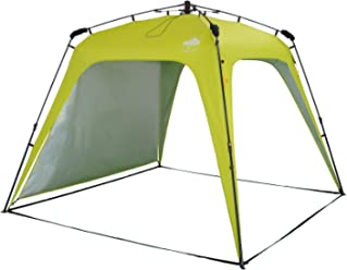 Lumaland Outdoor Pop up Pavillon Gartenzelt Camping Partyzelt Zelt Oder 1x zusätzliches Seitenteil in Verschiedene Farben