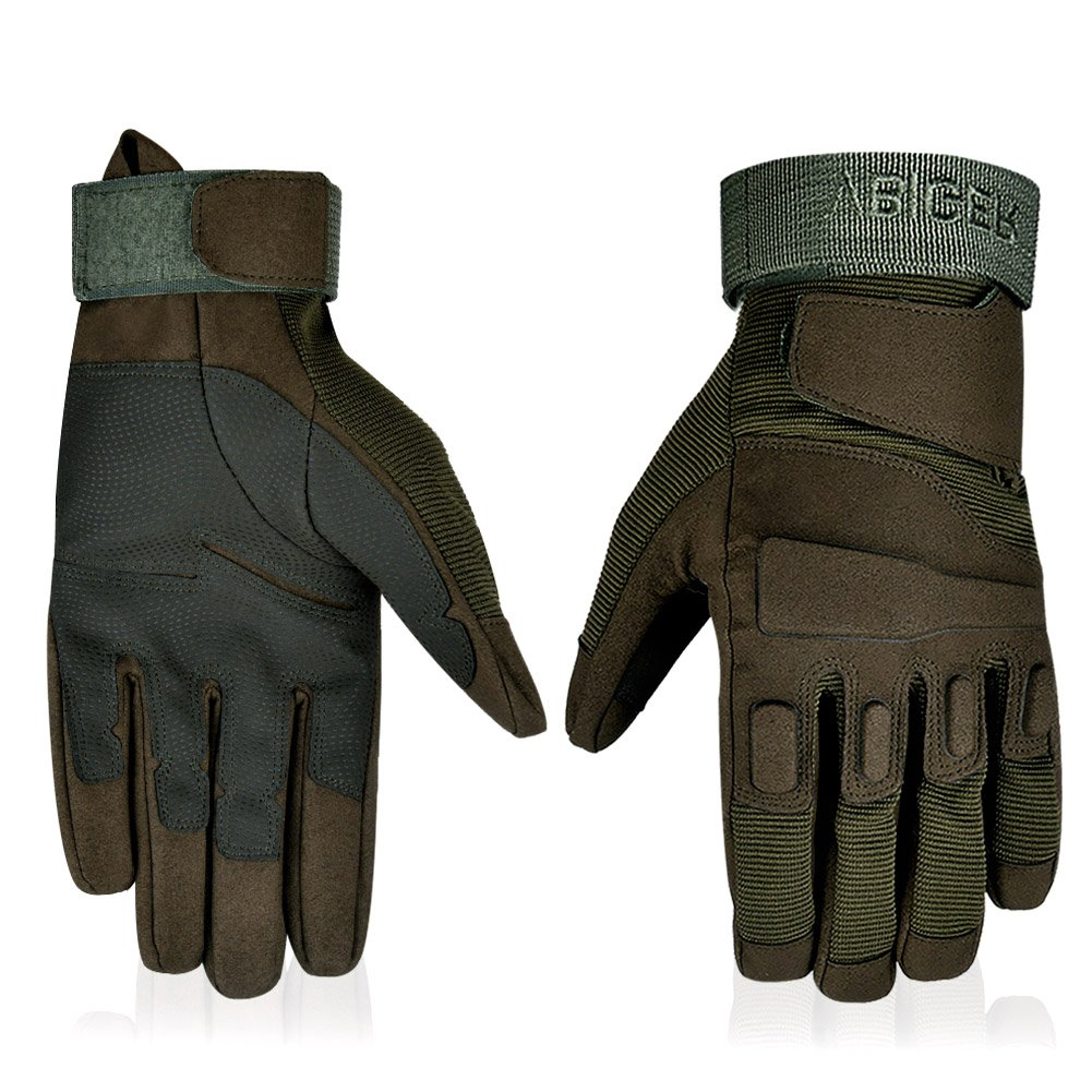 Outdoor Fitness Gloves: Military Tactical Full Finger Workout Glove Motorcycle