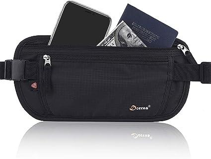 Travel Sports Passport Ticket Card Waist Pouch Bag Wallet Security Belt Band New