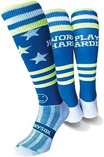 WackySox Work Hard Play Harder Sports Socks