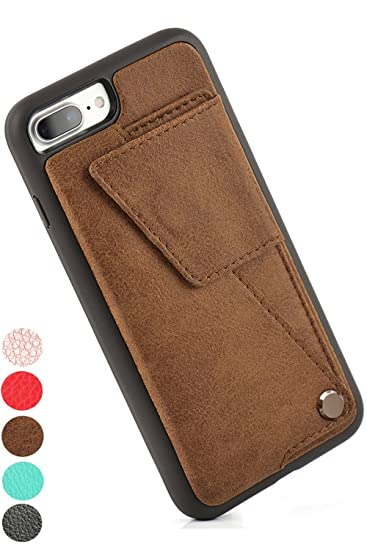 best website cb81c da4eb ZVEdeng iPhone 7 Plus Wallet Case, iPhone 8 Plus Wallet with Card Holder,  iPhone 7 Plus Case with Credit Card Slot Holder Money Pocket, iPhone 8 Plus  ...