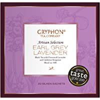 Gryphon Earl Grey Lavender Tea, 20 Count