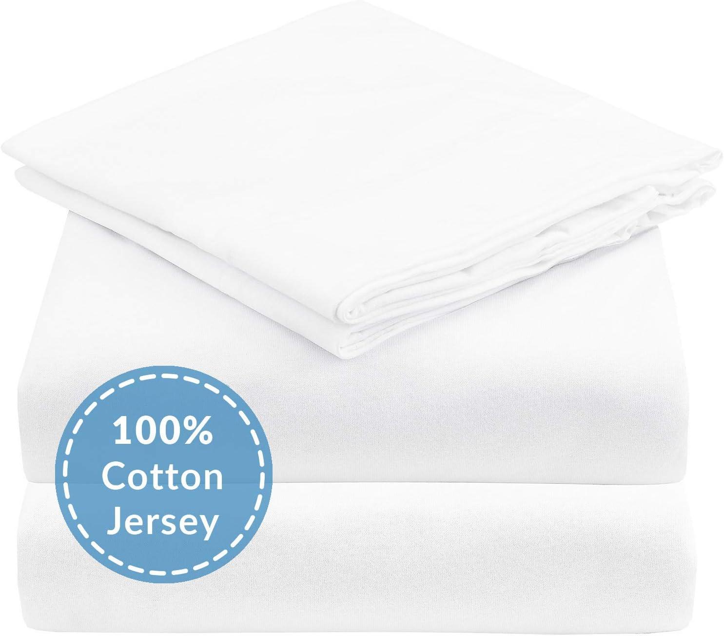 Estella Fitted Sheet Threads Jersey Platinum