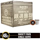 Supply Drop Variety Pack Single Serve Coffee Rounds by Black Rifle Coffee Company | 48 Count Coffee Pods | Compatible with Keurig K Cup Brewers | Coffee Lovers Gift