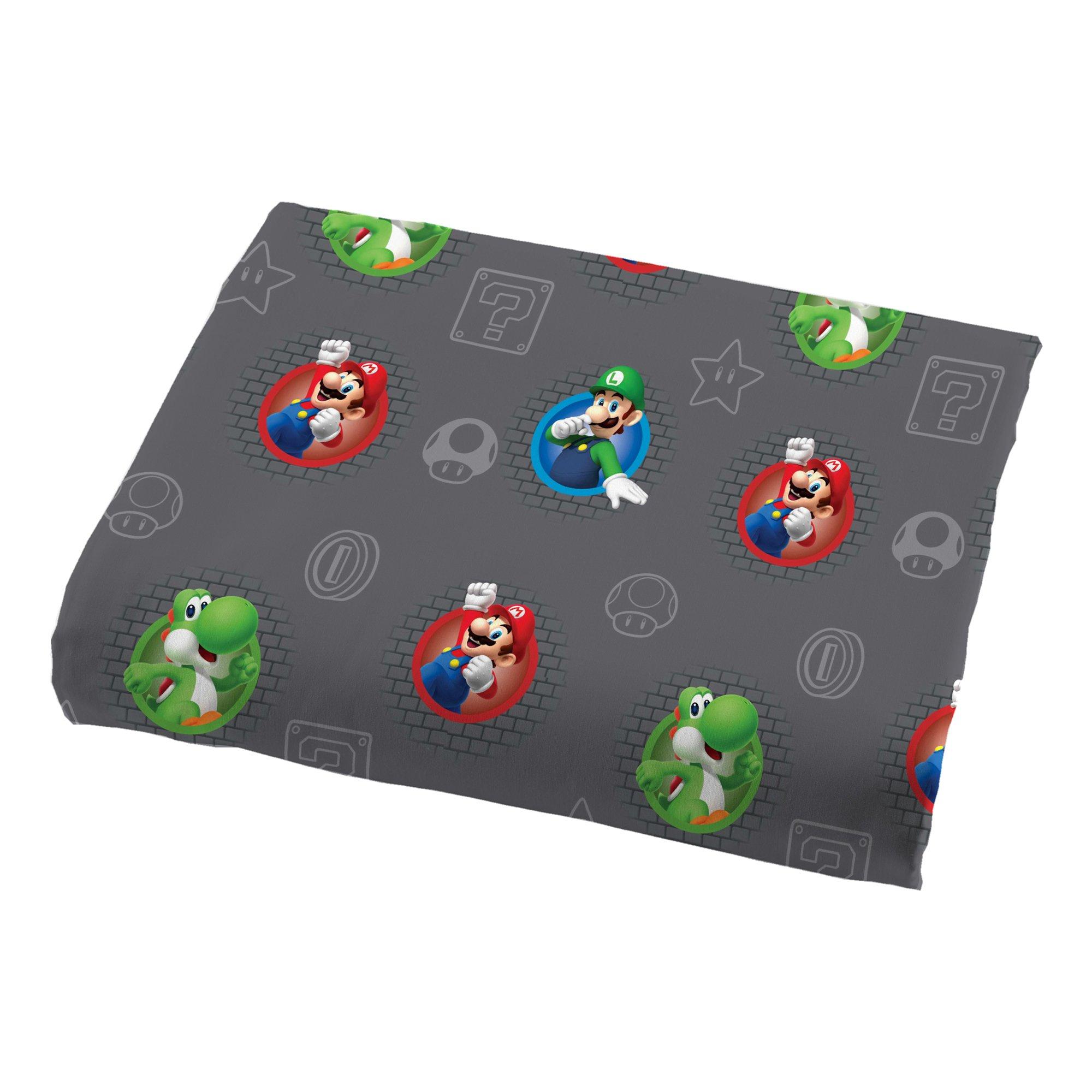 Nintendo Super Mario Trifecta Fun Twin Sheet Set by Nintendo (Image #2)