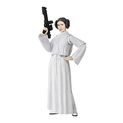 Bandai S. H. Figuarts Star Wars Princess Leia Organa (Star Wars: A New Hope) Approximately 135 mm PVC & ABS Painted Movable Figure Japan Import: Toys & Games