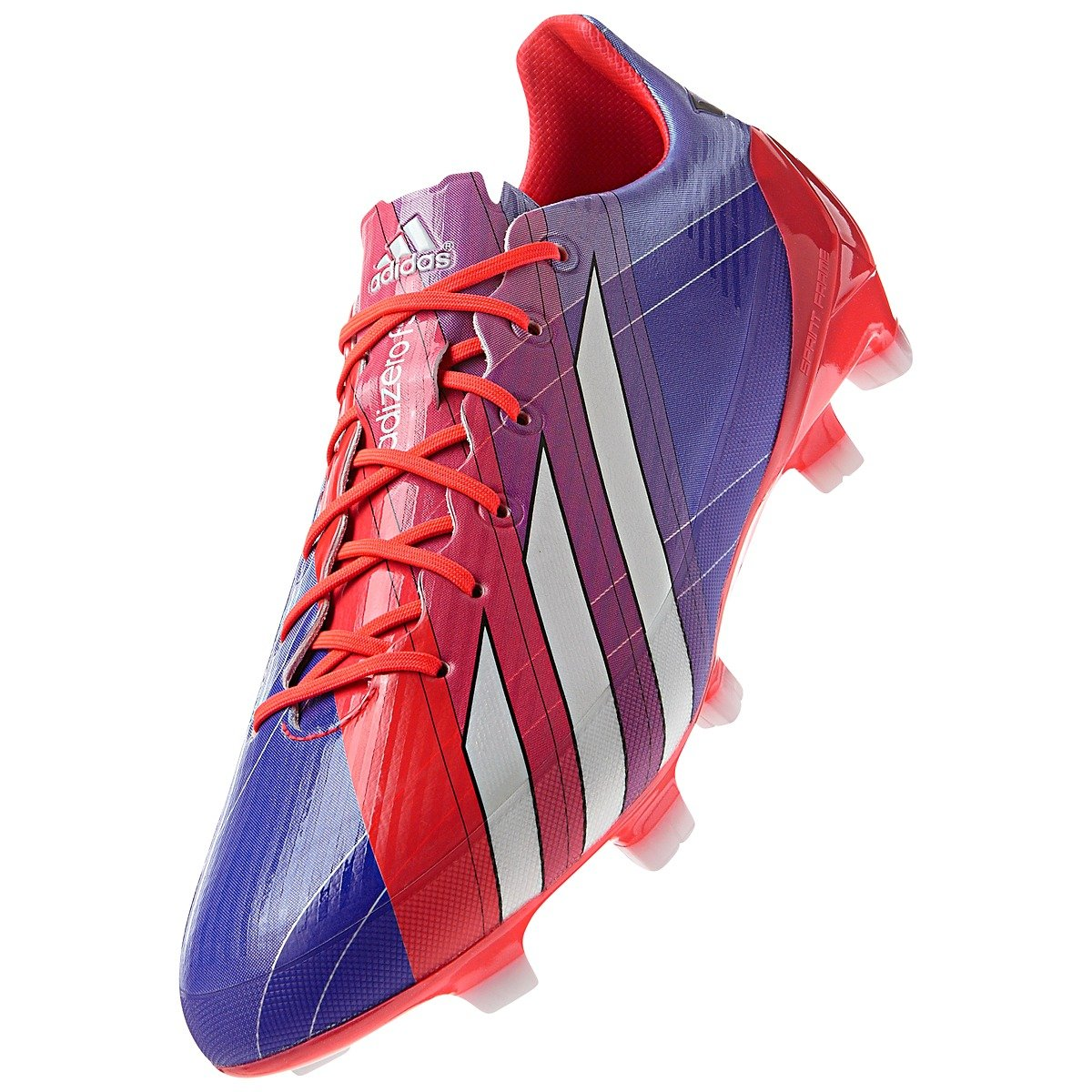 adidas F50 ADIZERO-MESSI (SYNTHETIC) TRX FG SOCCER CLEATS (PURPLE) (9) by adidas (Image #1)