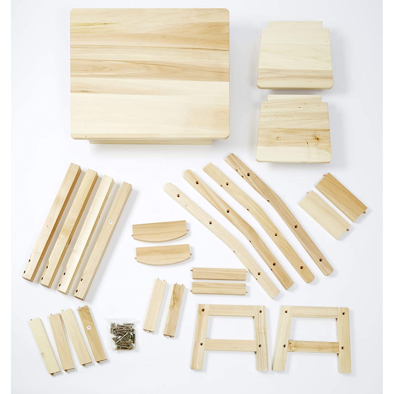 Wooden Table /& Chairs Set 12427 Melissa /& Doug