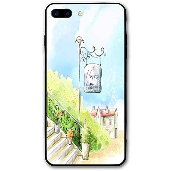 Amazon Com Happy House Iphone 8 Plus Case Soft Flexible Tpu