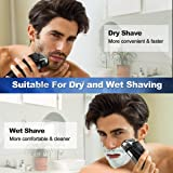 Electric Razor, Electric Shavers for Men, Dry Wet