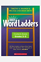 Daily Word Ladders: Content Areas, Grades 2-3 (Professional Books) Paperback