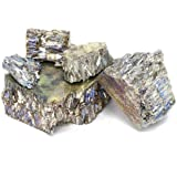 Bismuth Chunk (2 pounds   99.99+% Pure) Raw Bismuth Metal   Great for Crystal Making by MS MetalShipper