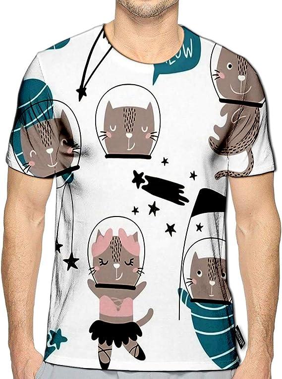 YILINGER 3D Printed T-Shirts Cartoon Musical Instruments Short Sleeve Tops Tees