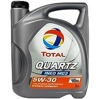Total 183119 Quartz Ineo MC3 5W30 Lubricante 5 Litros