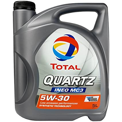 Total 183119 Quartz Ineo MC3 5W30 Lubricante, 5 l: Amazon.es ...