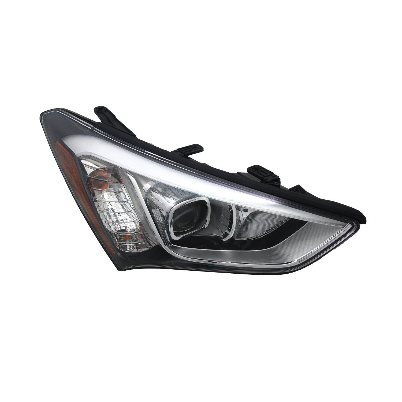 TYC 20-9379-00-9 For Hyundai Santa Fe Right Replacement Head Lamp