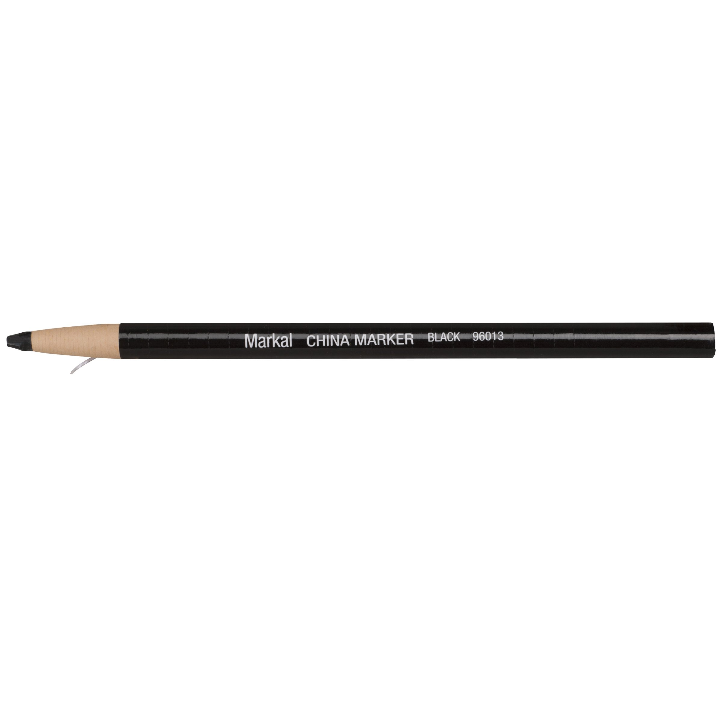 Markal Paper Wrapped China Marker, Black (Pack of 12) by Markal (Image #1)