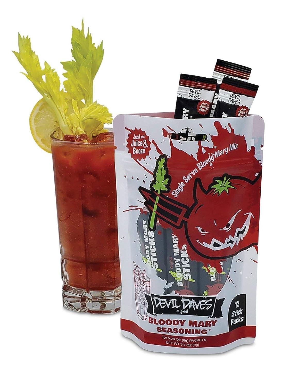 B07D2ZVHSG Devil Daves Bloody Mary Seasoning | 12 Pack Pouch 71aC2zsLI6L