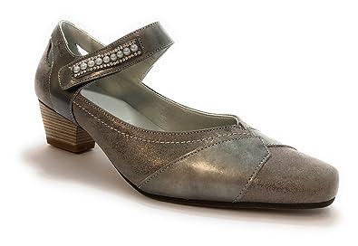Dorking 7387.MACM Gris - Chaussures Escarpins Femme