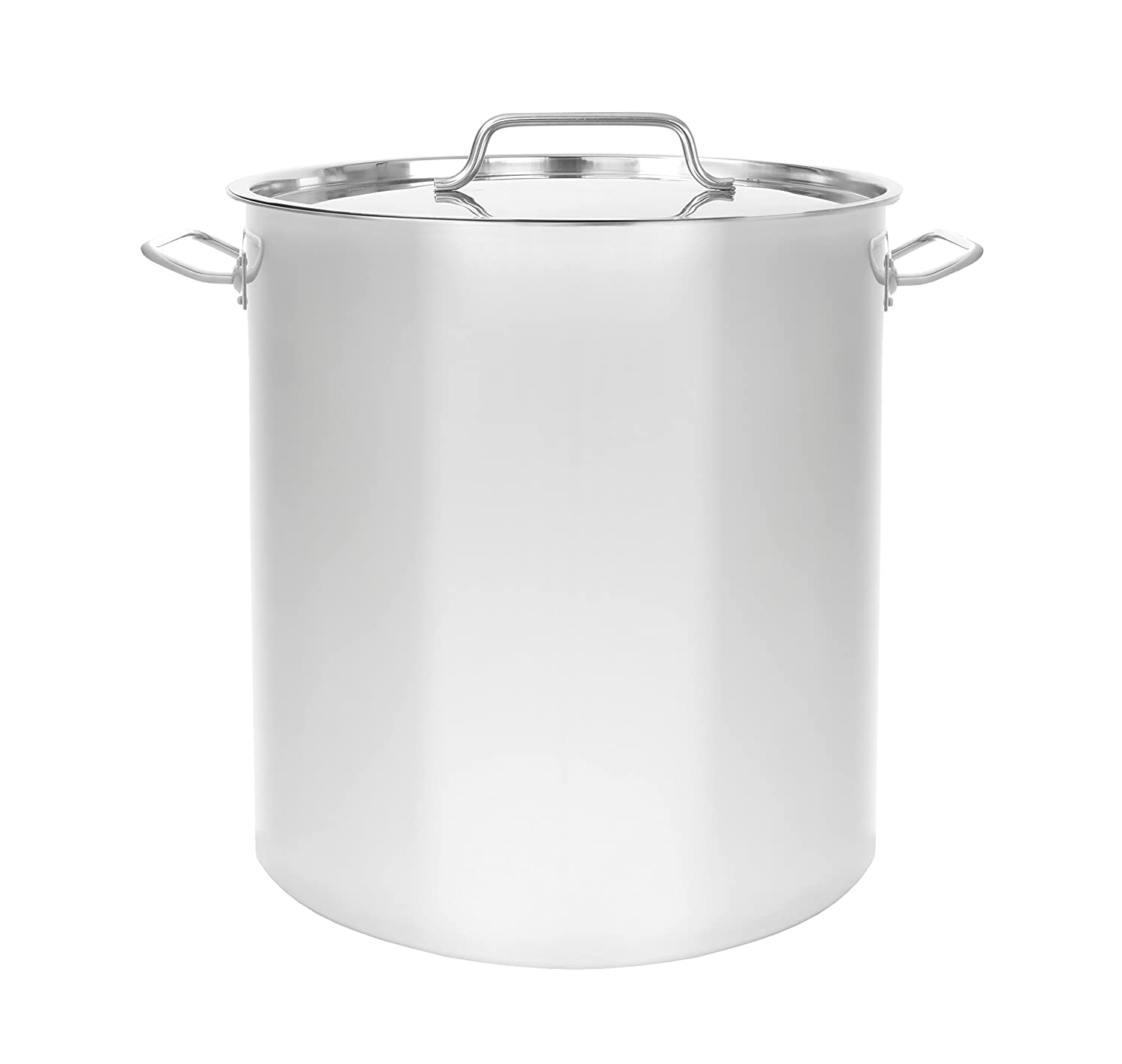 CONCORD Triply Bottom Stainless Steel Stock Pot Home Brew Kettle (40 QT) Concord Cookware S40-100-TB