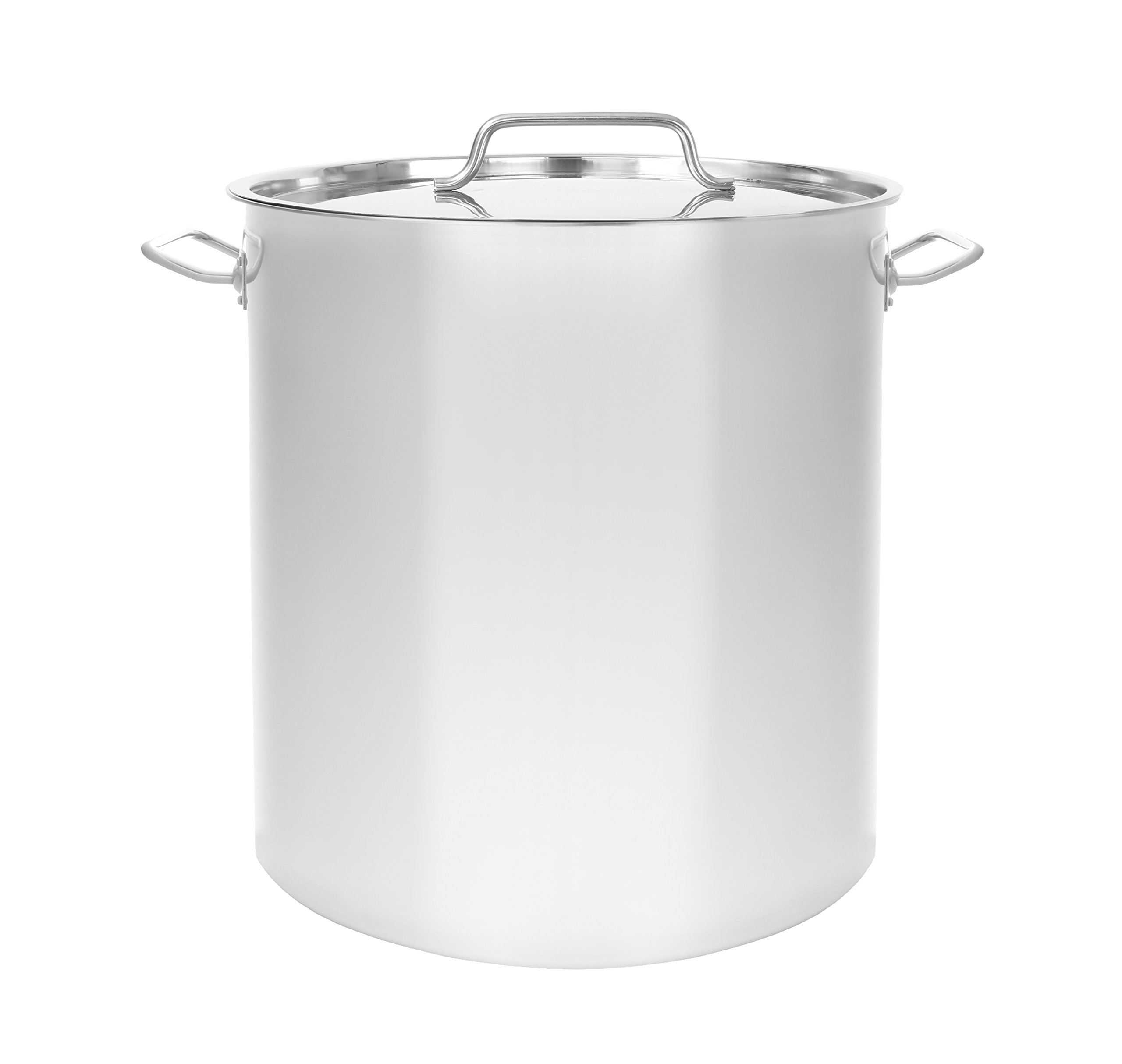 CONCORD Triply Bottom Stainless Steel Stock Pot Home Brew Kettle (60 QT)