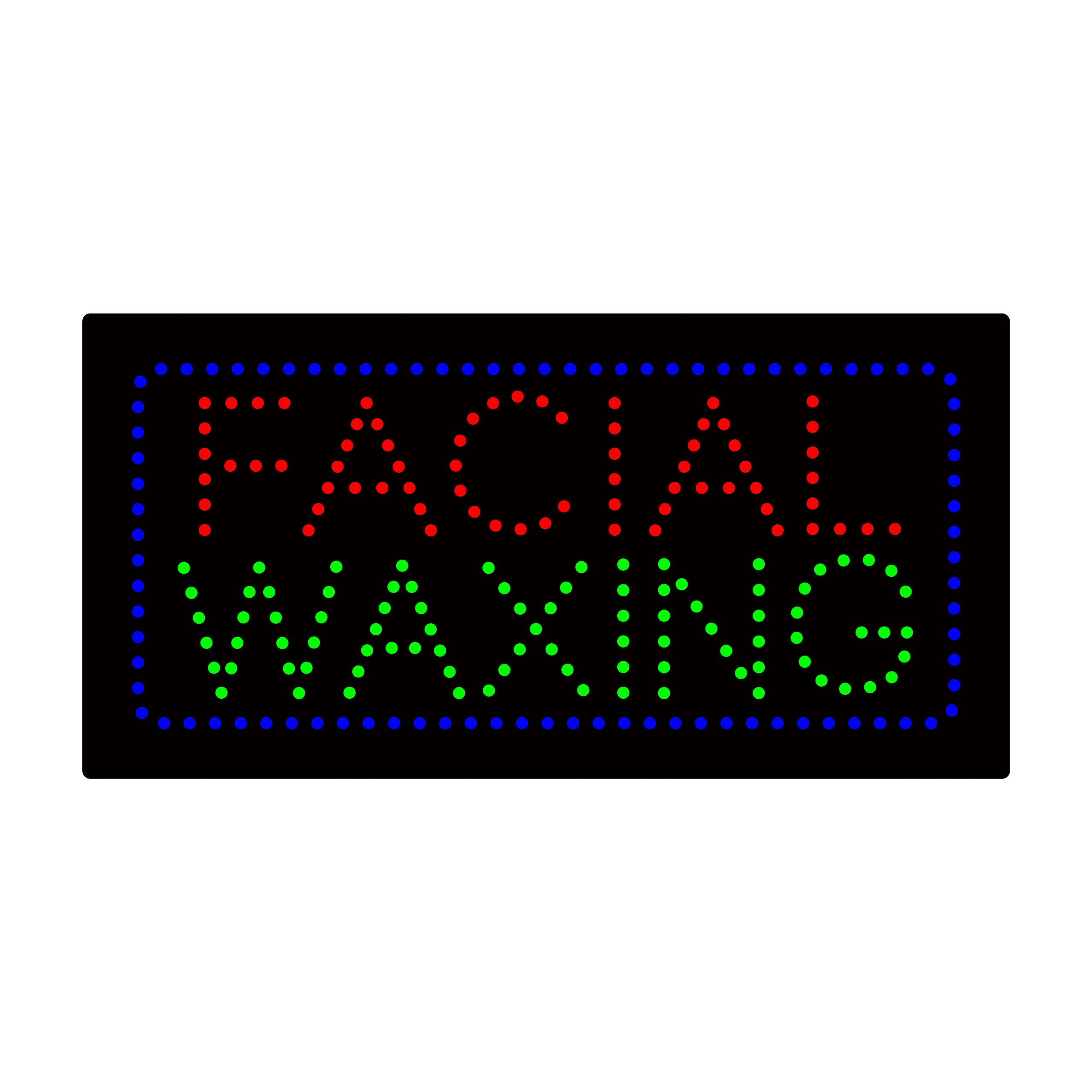 LED Facial Waxing Light Sign Super Bright Electric Advertising Display Board for Nails Spa Pedicure Message Business Shop Store Window Bedroom 24 x 12 inches by HIDLY (Image #1)