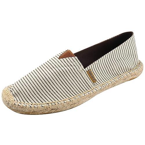 Alexis Leroy Logo Cocodrilo, Alpargatas de Lona para Mujer Beige 37 EU: Amazon.es: Zapatos y complementos