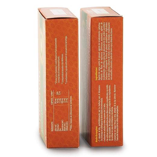Apisérum Pack Defensas Cápsulas - 3 meses de tratamiento - Mantiene y refuerza las defensas - Multivitamínico con Jalea Real, Vitamina C, Echinacea, ...