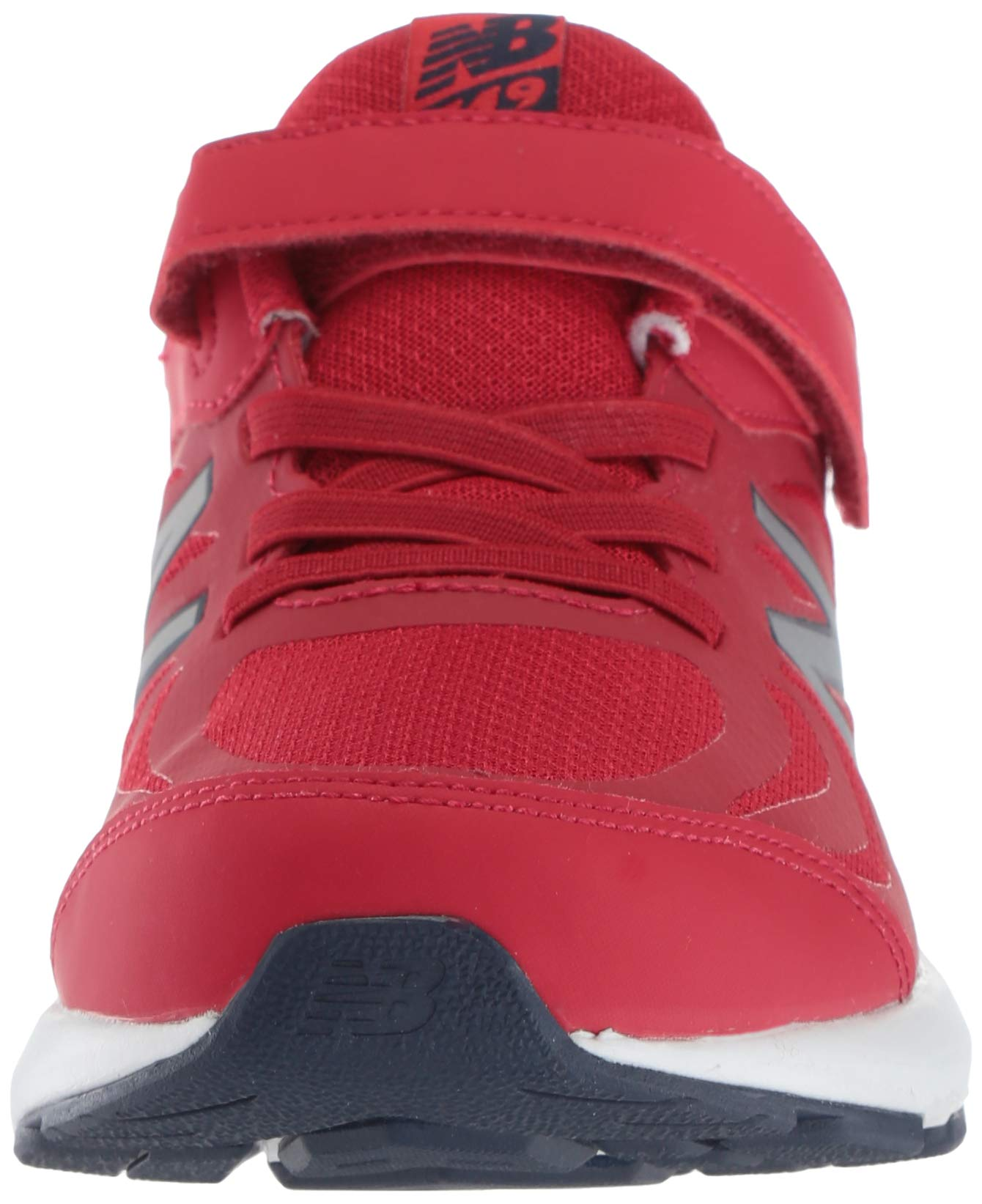 New Balance Boys' 519v1 Hook and Loop Running Shoe, Chili Pepper/Nubuck Scarlet, 2 M US Infant by New Balance (Image #4)