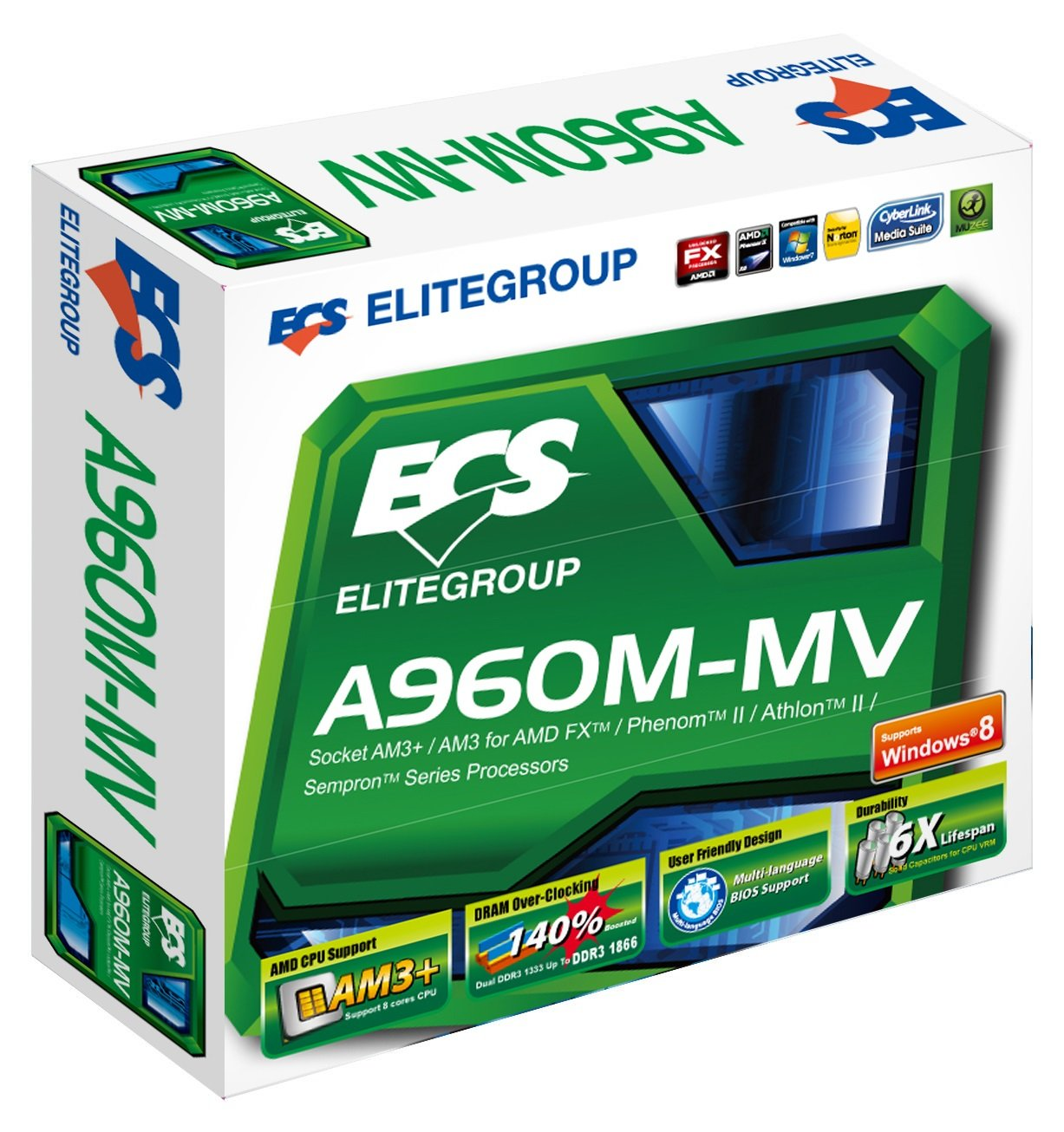 ECS A960M-MV DRIVERS DOWNLOAD